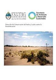 Desertificación - Secretaria de Ambiente y Desarrollo Sustentable