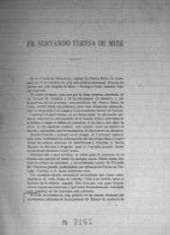 Fr. Servando Teresa de Mier - Bicentenario