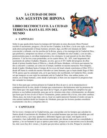 SAN AGUSTIN DE HIPONA - patristica.info
