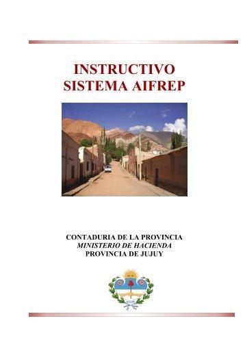 Instructivo - Ministerio de Hacienda - Gobierno de Jujuy