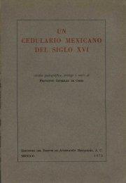 un cedulario mexicano del siglo xvi - Frente de Afirmación Hispanista