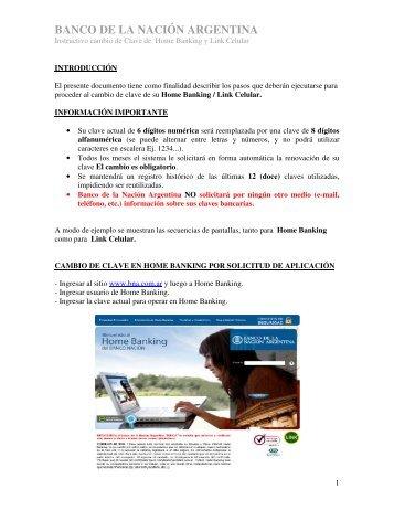 manual - Banco De La Nación Argentina