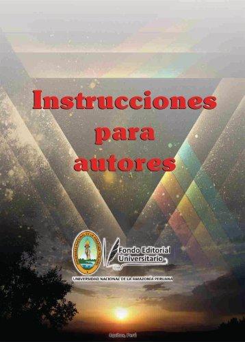 Instructores para autores - Universidad Nacional de la Amazonía ...