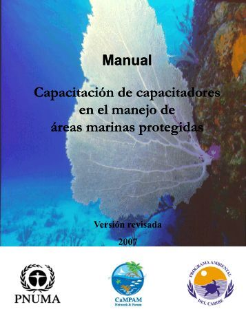 Manual Capacitación de capacitadores en el manejo de áreas ...