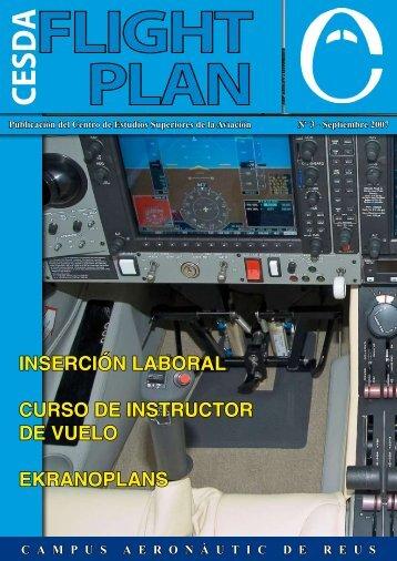 inserción laboral curso de instructor de vuelo ekranoplans - cesda