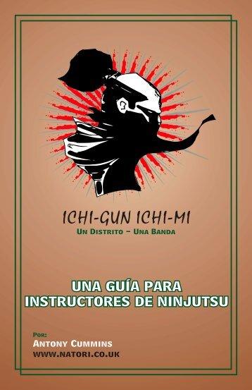 UNA GUÍA PARA INSTRUCTORES DE NINJUTSU - Natori.co.uk
