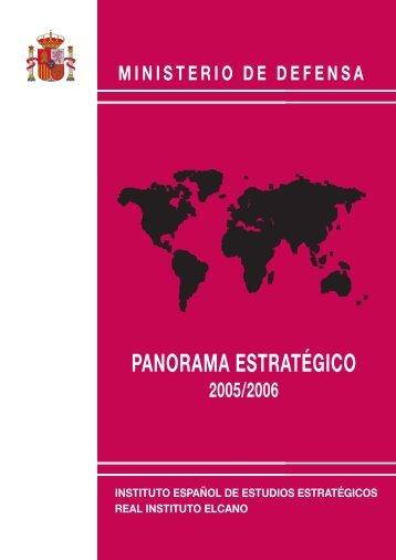 Panorama Estratégico 2005/2006 - Portal de Cultura de Defensa ...