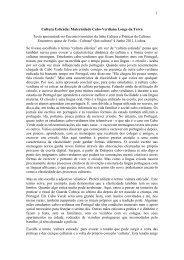 GESTÃO DO ENSINO E AS NOVAS TRAJECTÓRIAS ... - CesNova