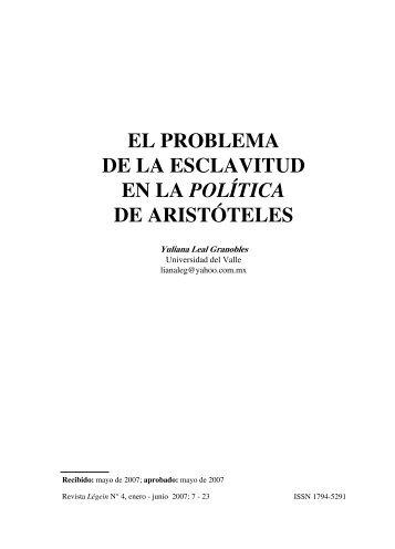 texto completo en PDF - Revista Légein - Universidad del Valle
