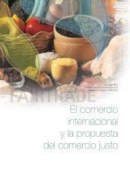 Evolución y situación actual del Comercio Justo - Alimentos ...