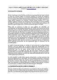 ELIAS y ELISEO, PROFETAS DE DIOS QUE AFECTARON LA ...