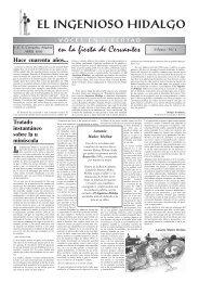 Ingenioso Hidalgo N.º 4 - IES Cervantes - Comunidad de Madrid