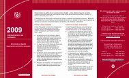 Ontario Budget 2009 Highlights - Spanish