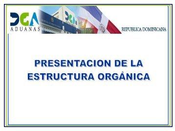 Reglamento Interno de Recursos Humanos y Estructura ... - DGA