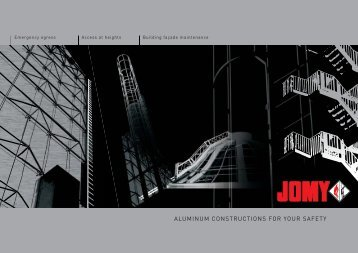 Retractable ladders - Jomy