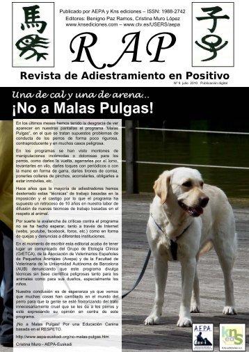 RAP Revista de Adiestramiento en Positivo Nº9 Publicación digital