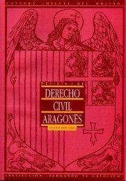 Revista de Derecho Civil Aragonés - Institución Fernando el ...