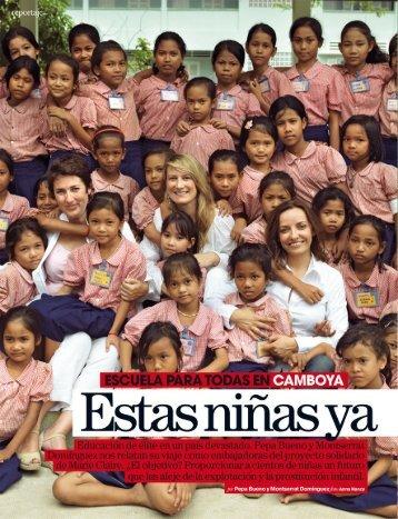 ESCUELA PARA TODAS en Camboya: estas ... - Blogsmarie-claire