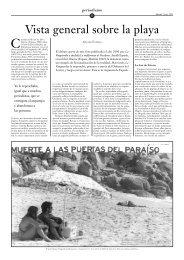 Vista general sobre la playa - Miguel Ángel Quintana
