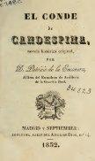 El Conde de Candespina, novela historica original - Page 7