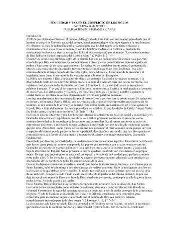 El Conflicto de los Siglos en PDF - The Bible Project