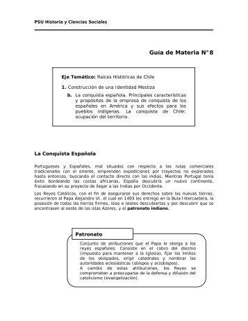 Conquista Española - Sala de Historia