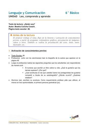 Lenguaje y Comunicación __ Básico - Educarchile