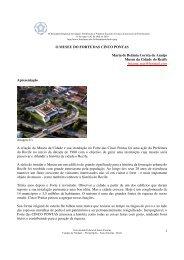 O Museu do Forte das Cinco Pontas - Seminário de Cidades ...