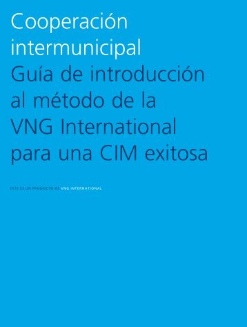 Cooperación intermunicipal Guía de ... - VNG International