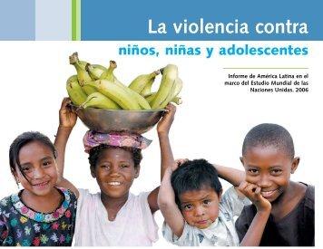 La violencia contra niños, niñas y adolescentes - CRIN
