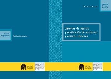 Sistemas de registro y notificación de incidentes y eventos adversos