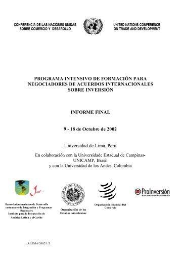 PROGRAMA INTENSIVO DE FORMACIÓN PARA NEGOCIADORES ...