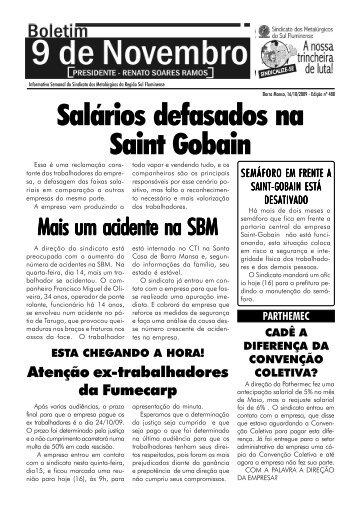 Boletim 489 - Sindicato dos Metalúrgicos de Volta Redonda