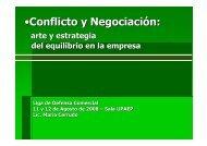 (Microsoft PowerPoint - CONFLICTO Y NEGOCIACI ... - Lideco.com