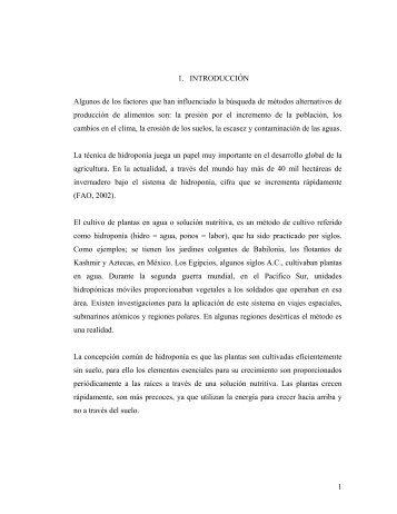 Productividad del cultivo hidropónico de Avena sativa y ... - Altavoz