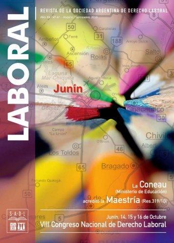 actividades académicas laboral - Sociedad Argentina de Derecho ...