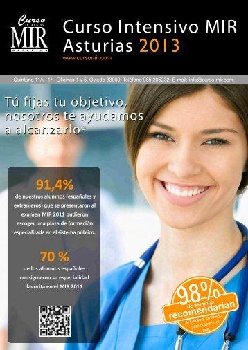 Revista de información - Curso Intensivo MIR Asturias