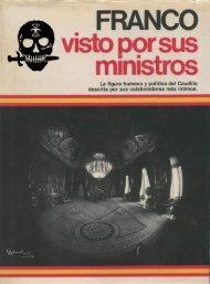 Franco visto por sus ministros - Zona Nacional