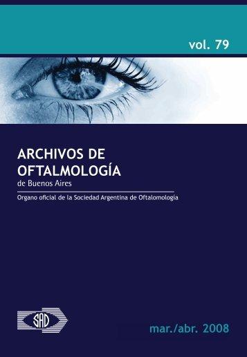 Volumen 79 Número 1 - Sociedad Argentina de Oftalmología