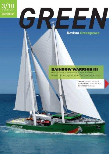 Revista GREEN 3/10 - Greenpeace