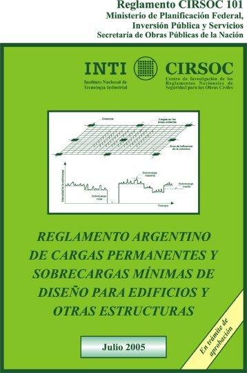 CIRSOC-Reglam-101-2005-FIUBA - Facultad de Ingeniería - UBA