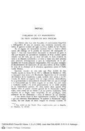 Hallazgo de un manuscrito de fray Andrés de San Nicolás