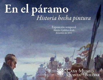 En el páramo. Historia hecha pintura - Casa Museo Quinta de Bolívar