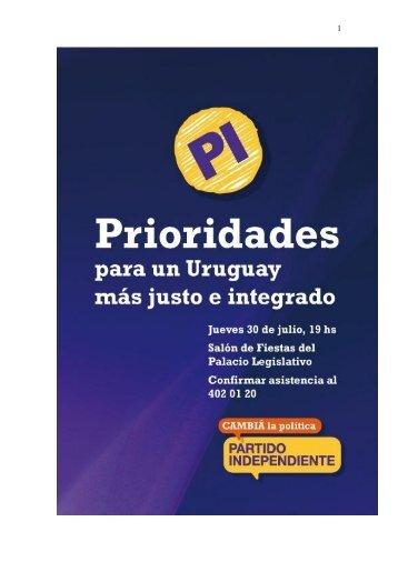 Partido Independiente - Corte Electoral