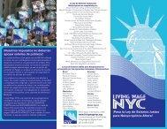 La Ley de Salarios Justos para Neoyorquinos - Living Wage NYC