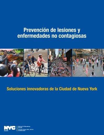 Prevención de lesiones y enfermedades no contagiosas - NYC.gov