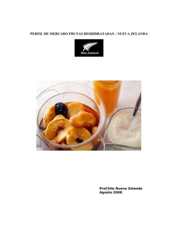 perfil de mercado frutas deshidratadas – nueva ... - Chilealimentos