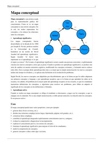 Mapa conceptual - Metauniversidad