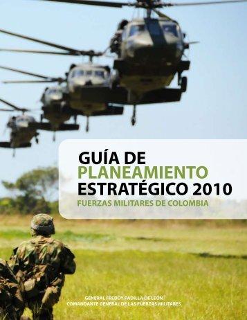 PLANEAMIENTO ESTRATÉGICO 2010 GUÍA DE - Comando ...