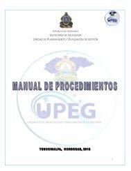 Unidad de Planeamiento y Evaluación de la Gestión - Secretaría de ...